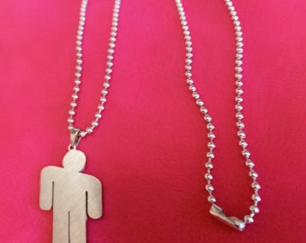 Billie Beads Vintage Silver Mother Charm Necklace!
