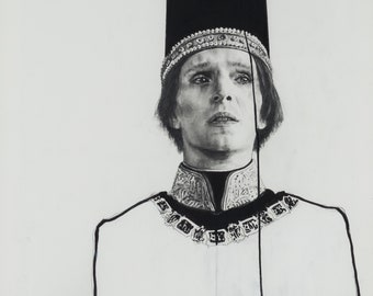 Man Wearing A Crown