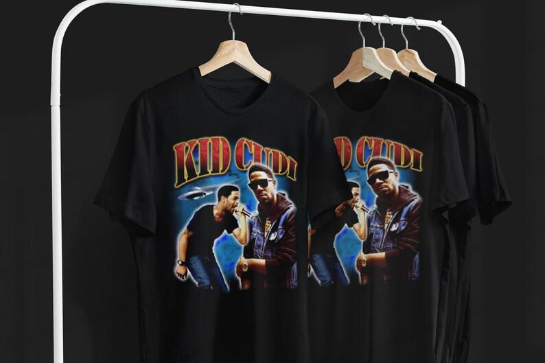vintage 90/'s shirt rap concert hypebeast vintage Kid Cudi shirt unisex adult clothing