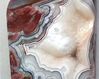 Cavernous Crystal Pocket Laguna Lace Agate