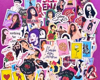 Selena Sticker Pack Deal 2 / Selena Quintanilla / Latina Singer / Waterproof Stickers