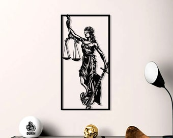 Black Law Office Metal Sign; Wall Decor for  Metal Sign; Wall Decor for Home an