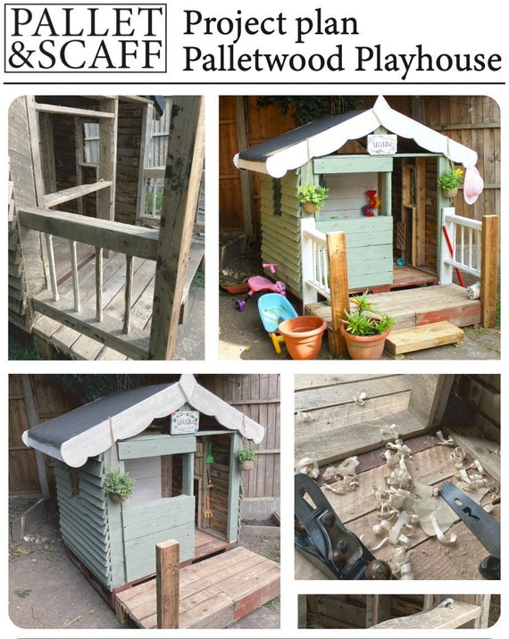 Palletwood Playhouse Plans