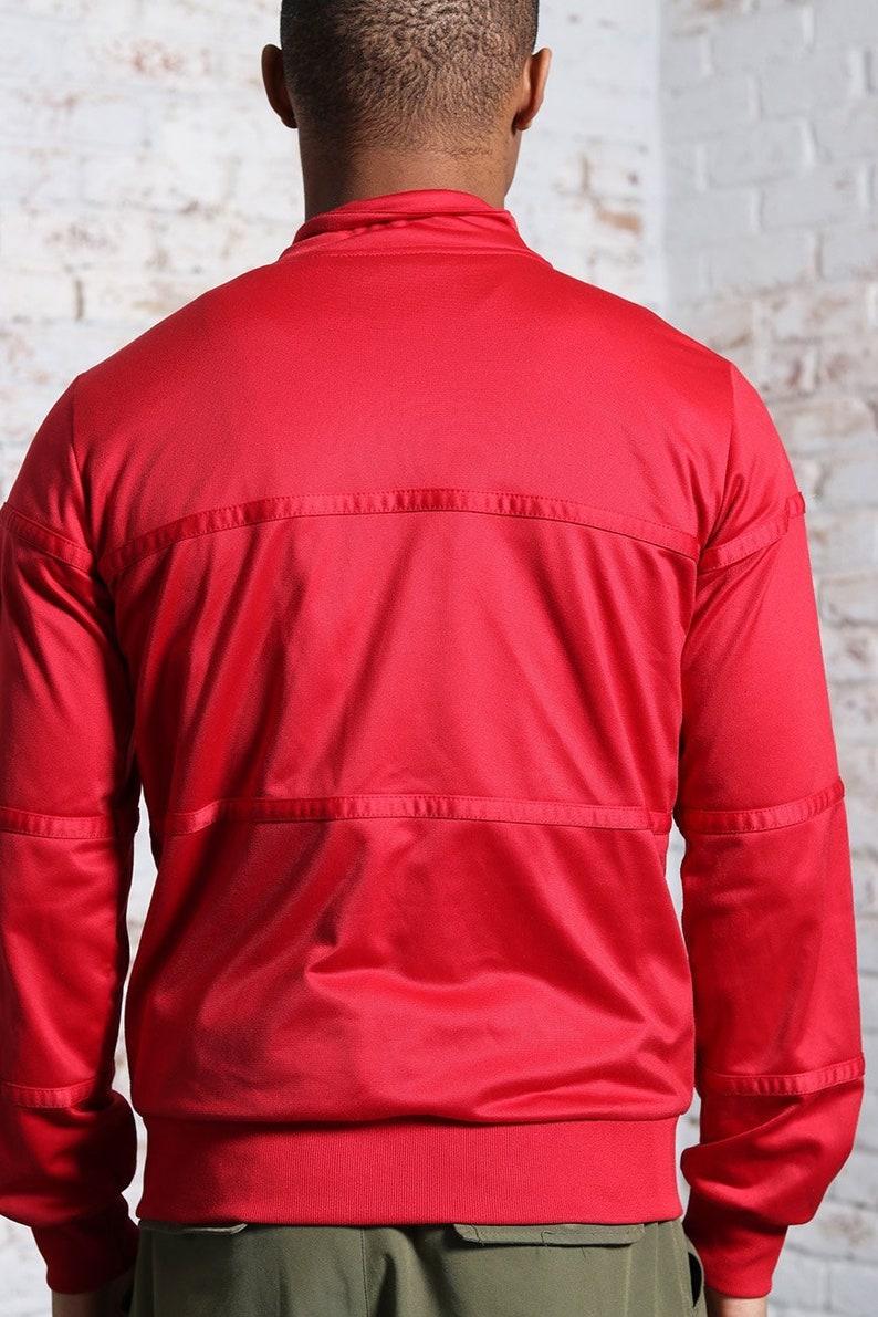 Vintage Carhartt Track Logo Jacket Red
