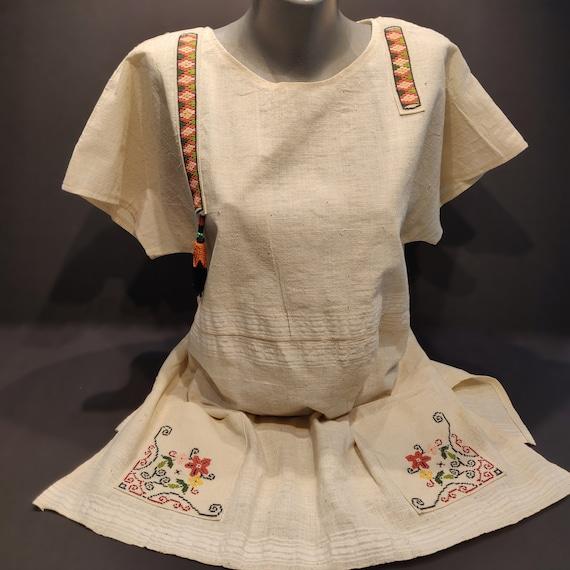 Handmade Unique Linen Shirt For Women
