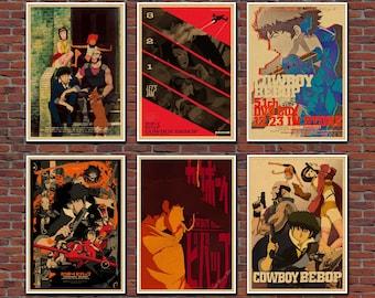Cowboy Bebop Retro Poster
