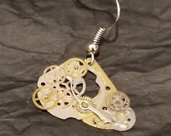 Steampunk Earring (lone dangler!)