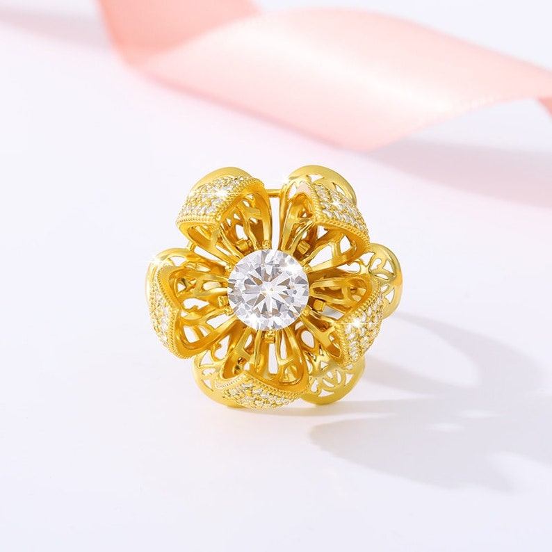 Flocaw-Adjustable Flower Blooming Ring
