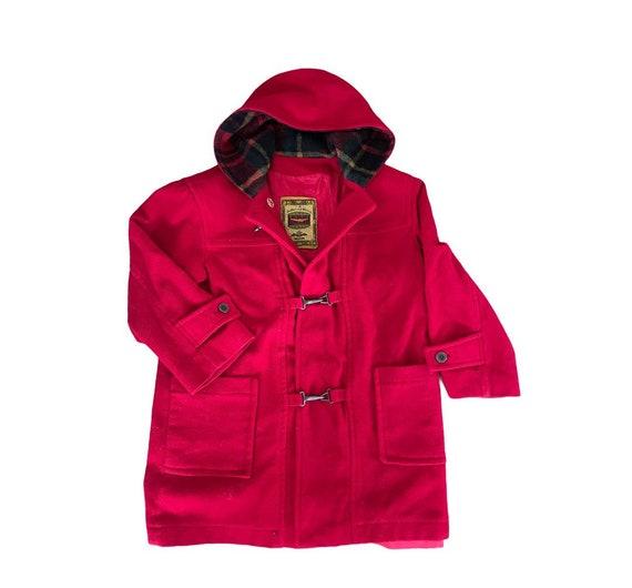 Red Hood Duffle Coat