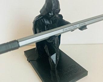 Darth Vader Pen Holder With Inscription - Star Wars