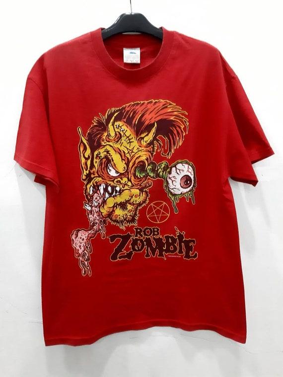 Vintage Rob Zombie Say You Love Satan Shirt