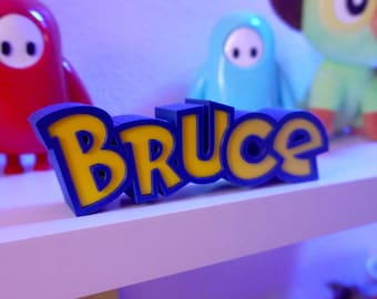 Personalized Custom Pokemon Nameplate / 3D Printed Name Plate, The Original! - Great Streamer Gift!  Gift for Streamer - FREE US SHIPPING!