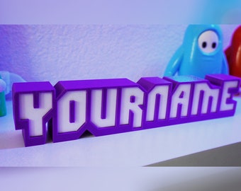 Personalized Custom Twitch Nameplate / Name Plate, The Original! - Great Streamer Gift!  Gift for Streamer - FREE US SHIPPING! Desk Sign