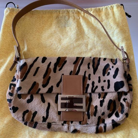 Authentic Fendi Ponyhair Baguette Bag
