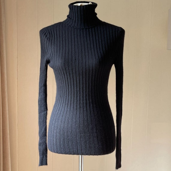 Michael Star 100% Cashmere Turtle Neck One Size
