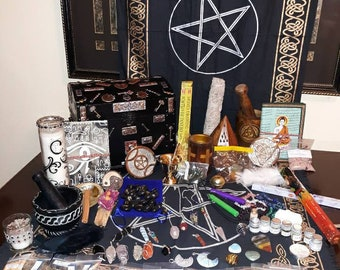 Witch Kit beginner witch set baby witch kit altar kit. These are mystery kits.perfect for beginners or replenishing witchy supplies