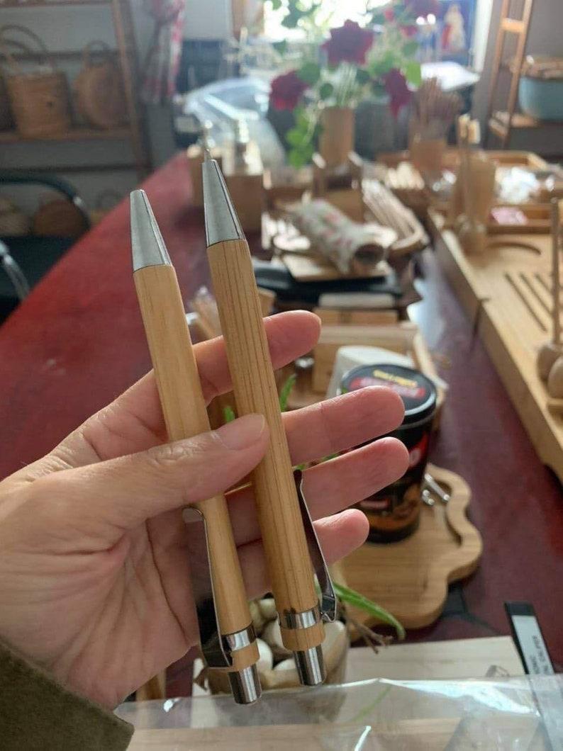 the handmade bamboo pen is completely environmentally friendly Bamboo pen