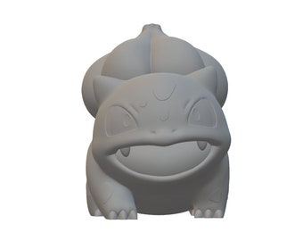 3D Printed Bulbasaur Figurine 2.5in