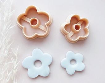 Flower Shape Polymer Clay Jewellery Cutter
