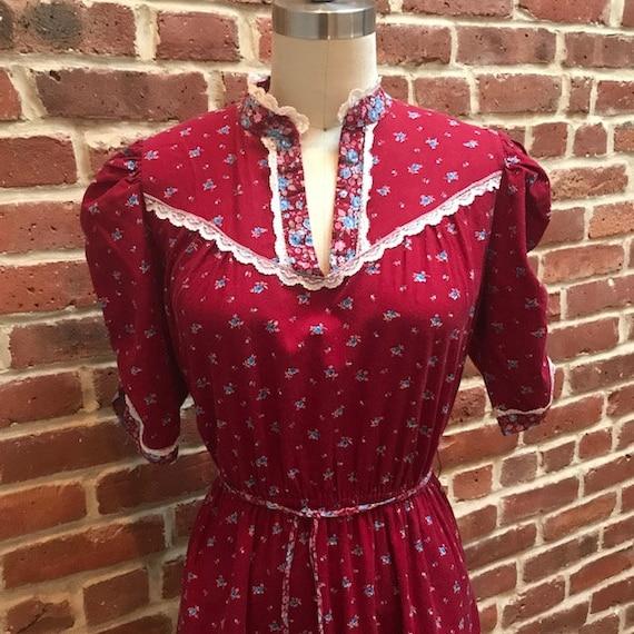 1970's-80s Prairie dress