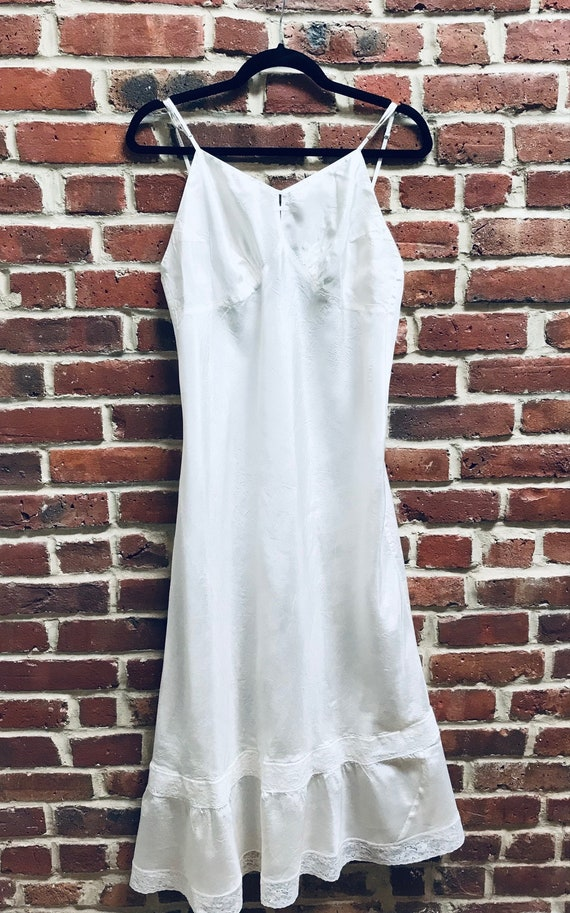 Vintage 1940's/50's Rayon Slip in Mint Condition
