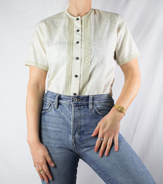 maid blouse, size 42