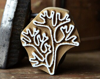 Pottery Handmade Ethnic Crafts Textile Gift Idea. Leather Cards Print Making Acorn Wooden Stamp For Block Printing