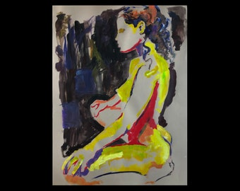 Nude Study no.2 50x65cm