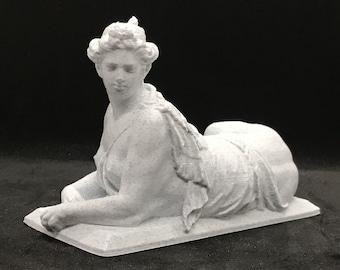 Schönbrunn Sphinx Statue / Vienna Sphinx 3D Printed Statue / Sphinx Figurine / Sphinx Statuette
