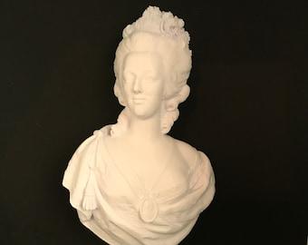 Marie Antoinette 3D Printed Bust