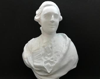 King Louis XVI of France 3D Printed Bust