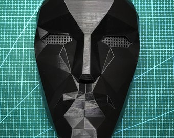 Squid Game Front Man Mask - 3D Printed