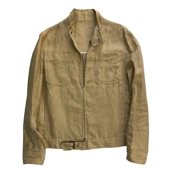 70s Unlined Fine Stripes Jacket | 70s Unlined Stri