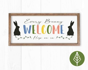 Every Bunny Welcome Etsy