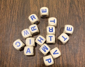 Boggle 1996 Letters