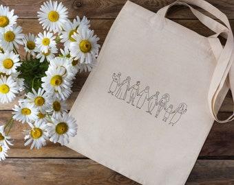 Feminist Tote Bag | The House of Revolution x Ludovica Marani | Mother's Day Gift