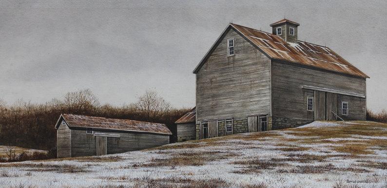 Giclee Fine Art Print of Original Acrylic Painting image 0