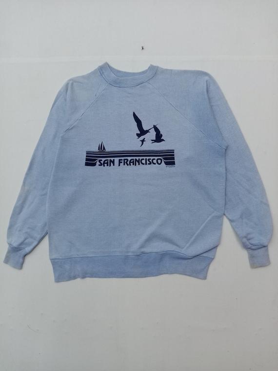 Vintage 70s San Francisco Hawaii Sweatshirt
