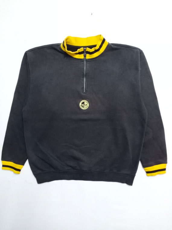 Vintage Adidas Sweatshirt Big Logo Embroidered Swe