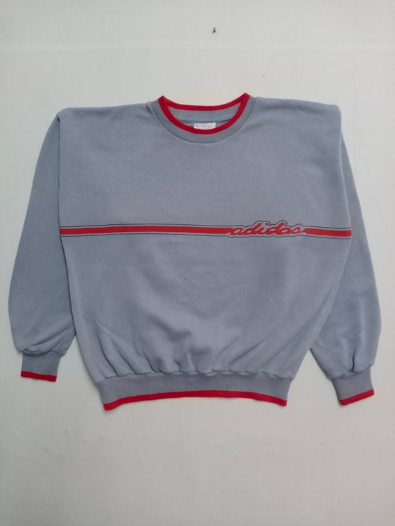 Vintage Adidas Big Logo Sweatshirt Nice Design