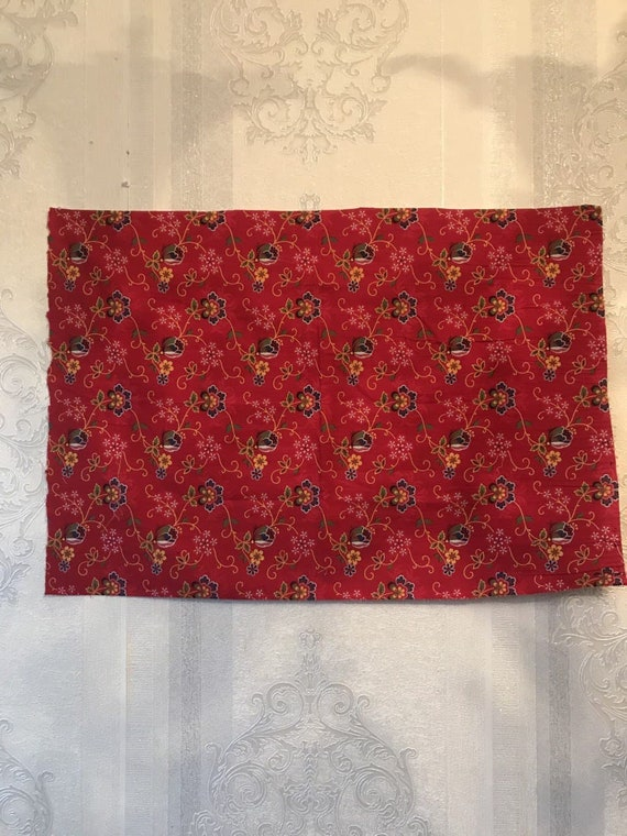 Antique, fabric, vintage fabric, with a very color