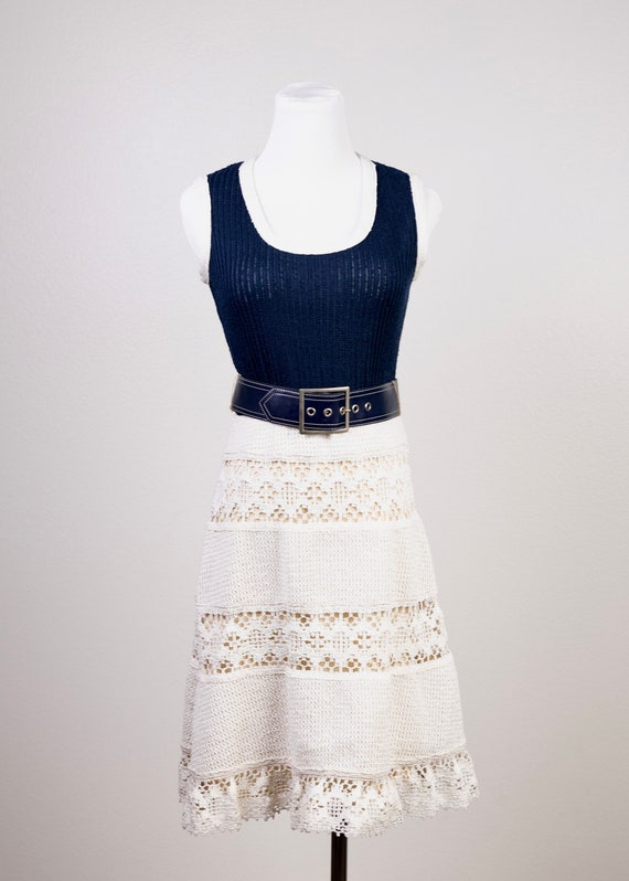1970's Knit Tank Dress