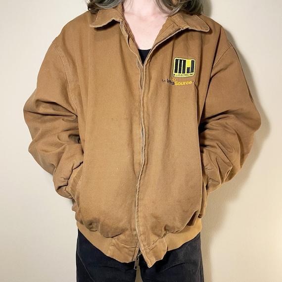 Vintage Tri Mountain Brown Workwear Jacket