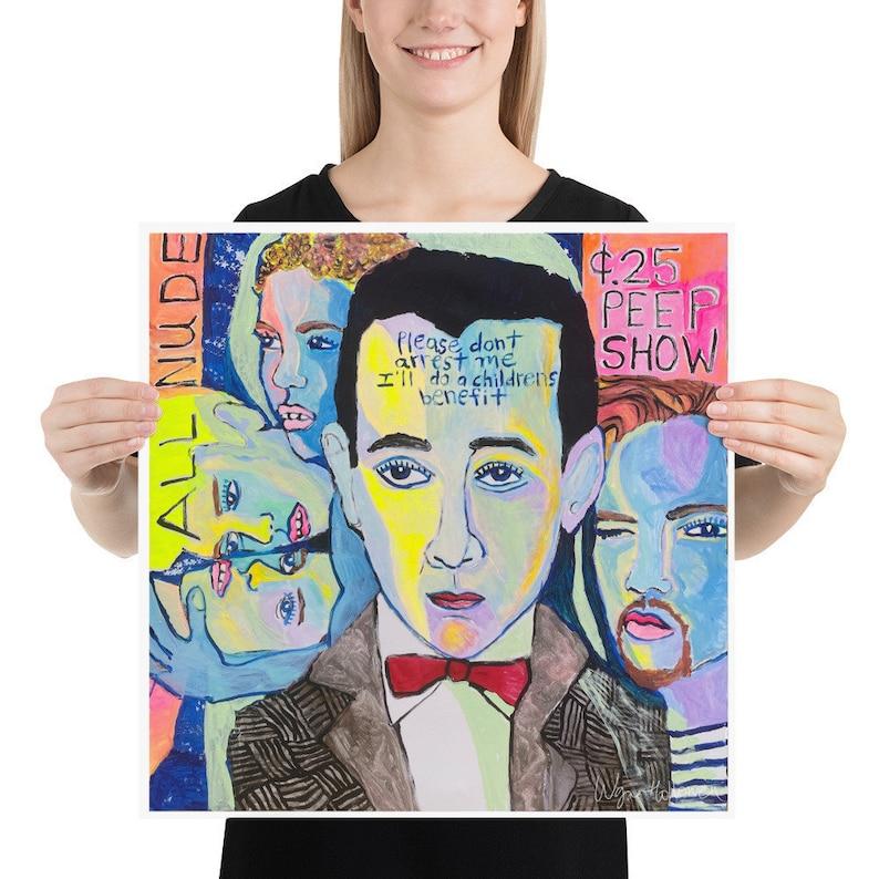 Pee-wee/'s Last Peep Show Art Print by Wayne Hollowell