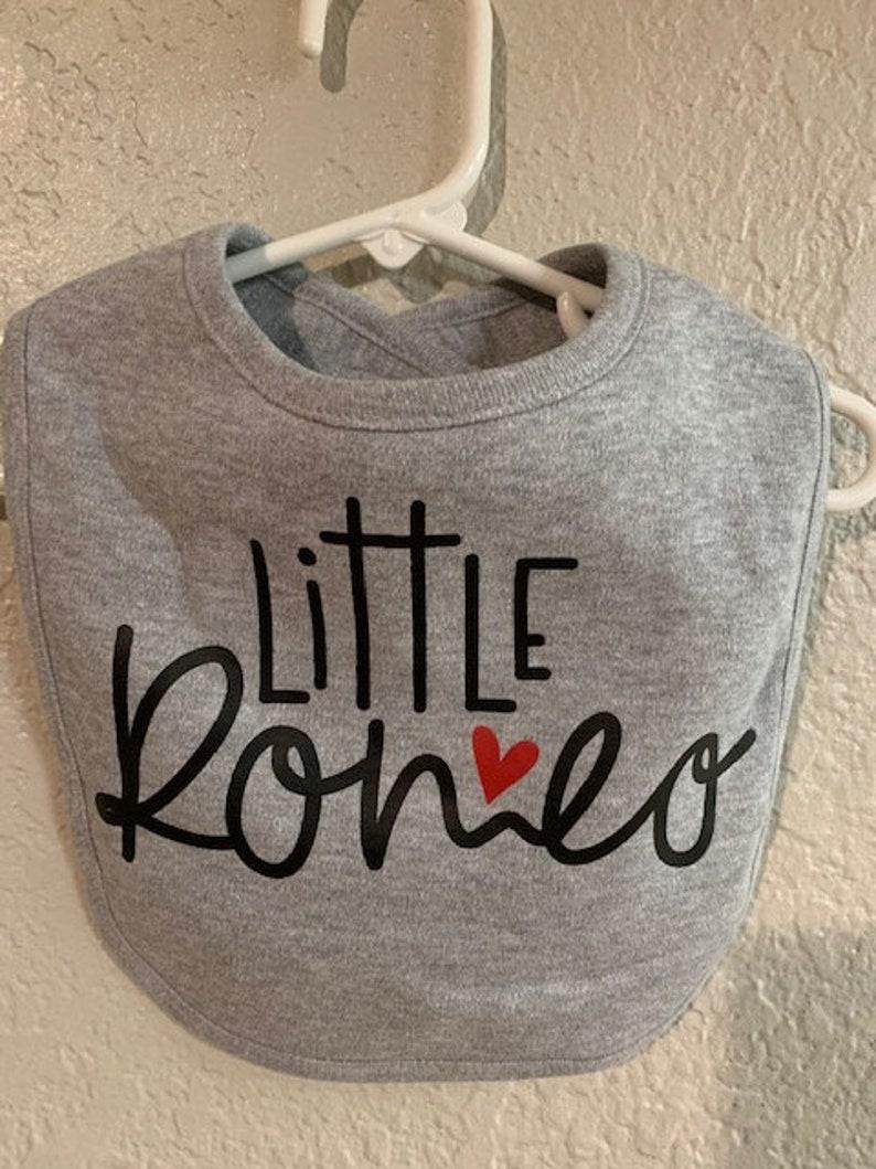 Baby Bib Little Romeo