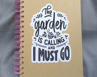 The Garden was Calling Garden Planner