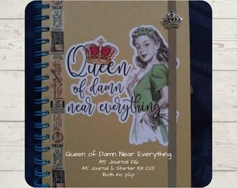 Queen of Damn Near Everything Organiser Journal