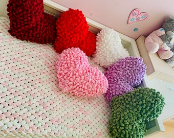 Cute heart shaped pillow, Marriage proposal gift