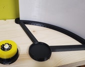 Curved Lithophane led stand 5 volt Micro usb