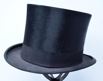 Top Hat Beaver Felt by Tress & Co. London -- Made for Jess Applegrath of Toronto Montreal